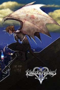 Gargoyles - Would love to see this as an actual level!<----I would just love to see all the KH characters as gargoyles! This is soo awesome! <3