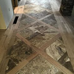 Tumbled travertine is set, we will now move on to staining and finishing the…
