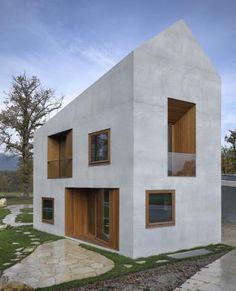 Deux maisons en une - clavienrossier architectes
