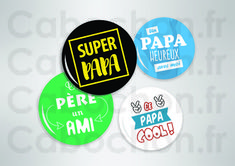 Super Papa ☆ 27 Images RONDES – Cabochon.fr ® Super Papa, Images, Cookies, Father's Day, Crack Crackers, Biscuits, Cookie Recipes, Cookie, Biscuit