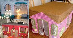 DIY cabanes en tissu