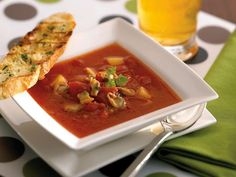 Manhattan Clam Chowder | A traditional and hearty main dish to warm up the crowd. Also made using our Whole Baby Clams.