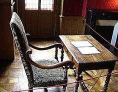 Writing Desk of Balzac, Paris. Tour the home of Honoré de Balzac. See the trapdoor through which the author escaped his creditors (so the legend goes....)