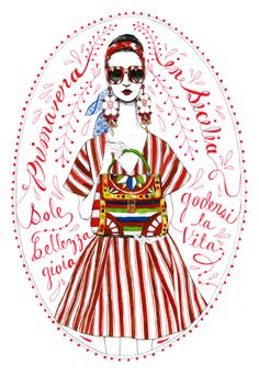 Bijou Karman's Fashion Illustrations