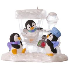 Penguin Express Ornament
