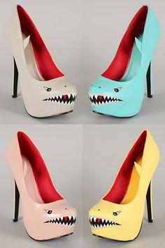 shark heels!