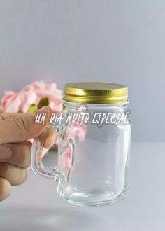 10 copinhos mason jar mini canecas lembrancinha aniversário