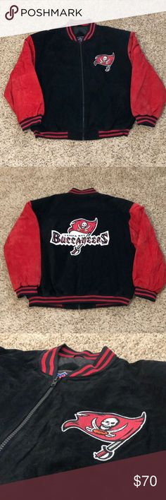 Vintage NFL Game Day Tampa Bay Buccaneers Jacket Vintage  NFL GameDay  Tampa Bay Buccaneers Varsity Jacket  Size X-Large  With Tags  Brand New, Never Worn or Used ⚡️WILL SHIP IN ONE DAY⚡️All Bundles Of 2 Or More Receive 20% Off. Closet full Of New, Used And Vintage Vans, Skate, Surf Companies, Jewelry, Phone Cases, Shoes, Sports And More. NFL Jackets & Coats Bomber & Varsity