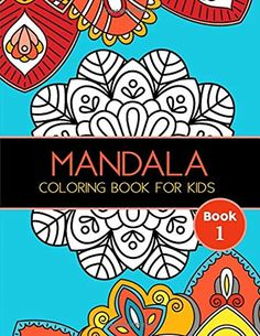 Mandala Coloring Book for Kids: Big Mandalas to Color for Relaxation, Book 1 by Joy Tree Games and Activities - CreateSpace Independent Publishing Platform Vigan, Coloring For Kids, Coloring Books, Mandala Printable, Mandala Artwork, Printable Adult Coloring Pages, Got Books, To Color, Mandala Coloring