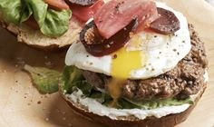 Burger with Pickled Beets and Fried Egg | The Daily Meal