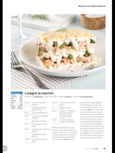 Lasagne au saumon Ricotta, Calories, Mashed Potatoes, Crockpot, Ethnic Recipes, Food, Slow Cooker, Recipes, Kitchens