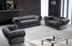 Stylish Design Furniture - Divani Casa Metropolitan Modern Fabric Sofa Tufted Acrylic Crystals, $2,528.00 (http://www.stylishdesignfurniture.com/products/divani-casa-metropolitan-modern-fabric-sofa-tufted-acrylic-crystals.html)