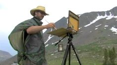 Hilarious plein air painting video with Tony Pro and Jeremy Lipking.