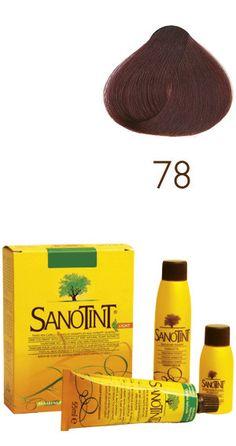 Linea Sanotint Light Sensitive  - Colore n. 78 Castano Mogano - 125ml.   TINTA AL MIGLIO DORATO SENZA P-FENILENDIAMMINA INDICATA PER LA CUTE PIU' SENSIBILE. Sanotint Light è disponibile in 12 tonalità mescolabili tra loro.
