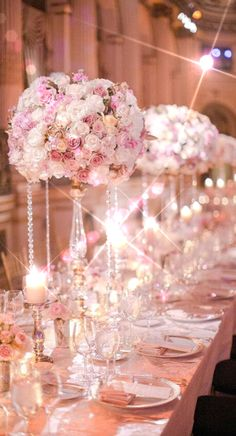 The perfectly lit wedding table - LUXURY.COM