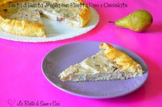 Torta di Pasta Sfoglia con Ricotta Pere e Cioccolato