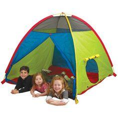 Found it at Wayfair Supply - Pacific Play Tents Super Duper 4 Kid Play Tenthttp://www.wayfairsupply.com/Pacific-Play-Tents-Super-Duper-4-Kid-Play-Tent-40205-PPT1086.html?refid=SBP