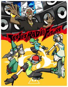 Jet Set Radio Character Creation, Game Character, Z Toon, Jet Set Radio, Air Gear, Futuristic Art, Drawing Skills, Manga Characters, Character Design References