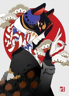 Discover recipes, home ideas, style inspiration and other ideas to try. Manga Art, Manga Anime, Anime Art, Character Inspiration, Character Art, Fuchs Tattoo, Japon Illustration, Samurai Art, Boy Art