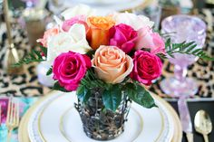 How to make an easy floral arrangement