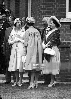 Queen Elizabeth, June 19, 1958 at Ascot