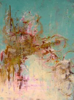 title unknown ~ oil and cold wax on panel ~ by cindy walton