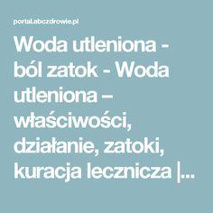 Woda utleniona - ból zatok - Woda utleniona – właściwości, działanie, zatoki, kuracja lecznicza | abcZdrowie.pl