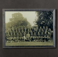 Vintage Sports Team Portrait - Team Trophy #3, 1925