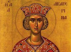 Αγία Αικατερίνη: Μεγαλομάρτυς της Χριστιανοσύνης. Η μνήμη της εορτάζεται στις 25 Νοεμβρίου και στις 24 Νοεμβρίου στο σλαβόφωνο χριστιανικό κόσμο.