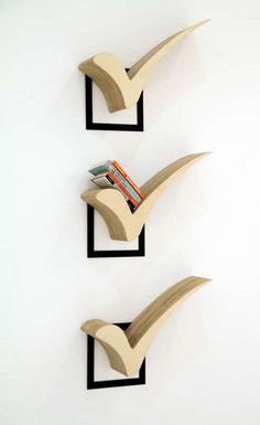 Perfect Score Bookshelves - Cool Decorative Shelving Ideas, http://hative.com/cool-decorative-shelving-ideas/,