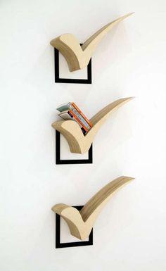 Perfect Score Bookshelves - Cool Decorative Shelving Ideas, http://hative.com/cool-decorative-shelving-ideas/,