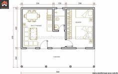 Casa 1 Quartos - 52.01m²