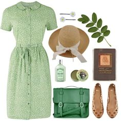 """""""Anne of Green Gables"""" by lululation on Polyvore (What an adorable dress!)"""