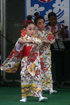 Okinawa dance
