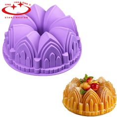 1 pz Big Crown Shape Cake Mold Stampo In Silicone Torta Di Compleanno decorazione della Muffa Chiffon Grande Pane Pan Chiesa del Castello Savarin Torta Mold in 1Pcs Cupcake Corer Tools Muffin Cake Pastry Corer Model Plunger Cutter Decorating Plastic Cake Digging Holes DeviceUSD 1da   su AliExpress.com | Gruppo Alibaba