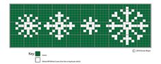 """A pinner says, """"Ravelry: Four Little Snowflakes: Christmas Motifs pattern by Erssie Major charts for hexipuff embellishment (duplicate sts) Fair Isle Knitting Patterns, Fair Isle Pattern, Knitting Charts, Loom Knitting, Knitting Stitches, Knitting Designs, Free Knitting, Knitting Projects, Ravelry"""