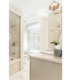 Bright bath with clean lines  | 159 East Walton Street #33A, Chicago, IL