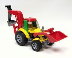 Bruder ROADMAX Loader Backhoe Toy Toys