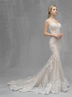 RK Bridal offers huge selection of designer Allure Bridal Couture Bridal, dresses and accessories in New York - RK Bridal. Wedding Dress Styles, Designer Wedding Dresses, Bridal Dresses, Prom Dresses, Sheath Wedding Gown, Backless Wedding, Wedding Gowns, Modest Wedding, Elegant Wedding