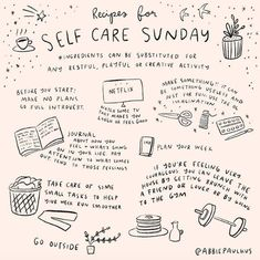 recipes for self care sunday #selfcaresunday...