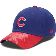 51aed5538fe Chicago Cubs Visor Emblem 39THIRTY Strech Fit Hat by New Era