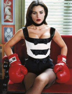 The photo Monica Bellucci you can watch without getting tired