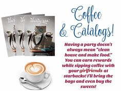 Who's ready for coffee & catalogs...Thirty-One style?? www.AnchoredBagsBySarah.com