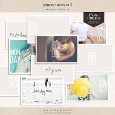 pictures & words no. 5 by paislee press