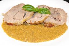 IMGP1262 Arrosto di vitello al latte secondi piatti effetto forno metodi di cottura carne  manzo latte cipolla carota carne aglio