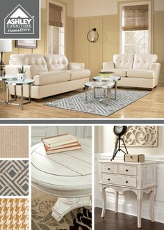 Love all of the ivory tones!