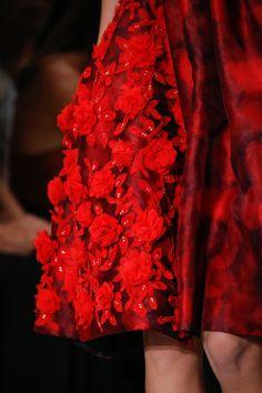 At Oscar de la Renta Spring/Summer 2016 RTW during New York Fashion Week.
