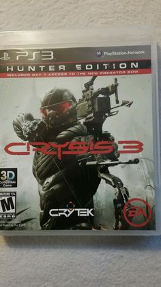 Crysis 3: Hunter Edition (Sony PlayStation 3, 2013)