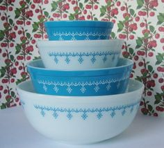 Got a bowl and 4 casserole dishes from my Grandma!