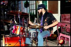 "Fake Leather Blues Band Drummer - Performance at ""Die Stoep"" in Nelspruit"